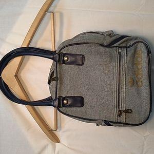 Ultra Rare Adidas Denim purse. 1970s vintage